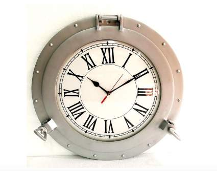 Vintage Navigation Porthole Wall Clock