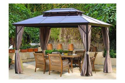 10 by 13 foot hard top gazebo