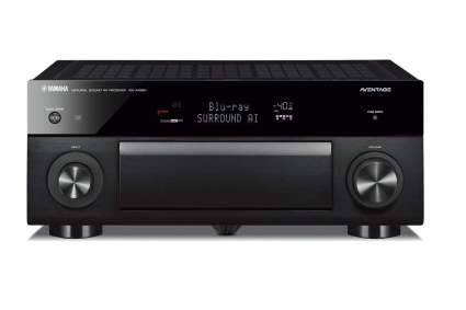 A Yamaha Aventage RX-A1080 home theater receiver