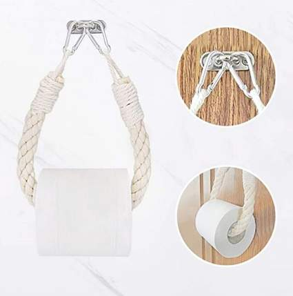 ZLMNB Nautical Rope Toilet Paper Holder
