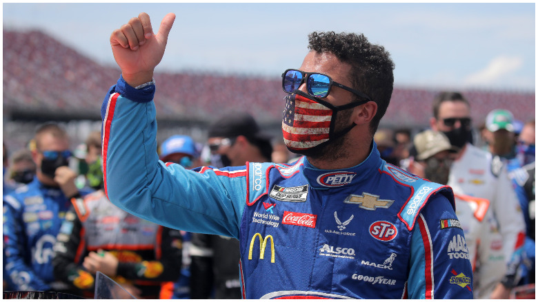 bubba wallace noose pull rope
