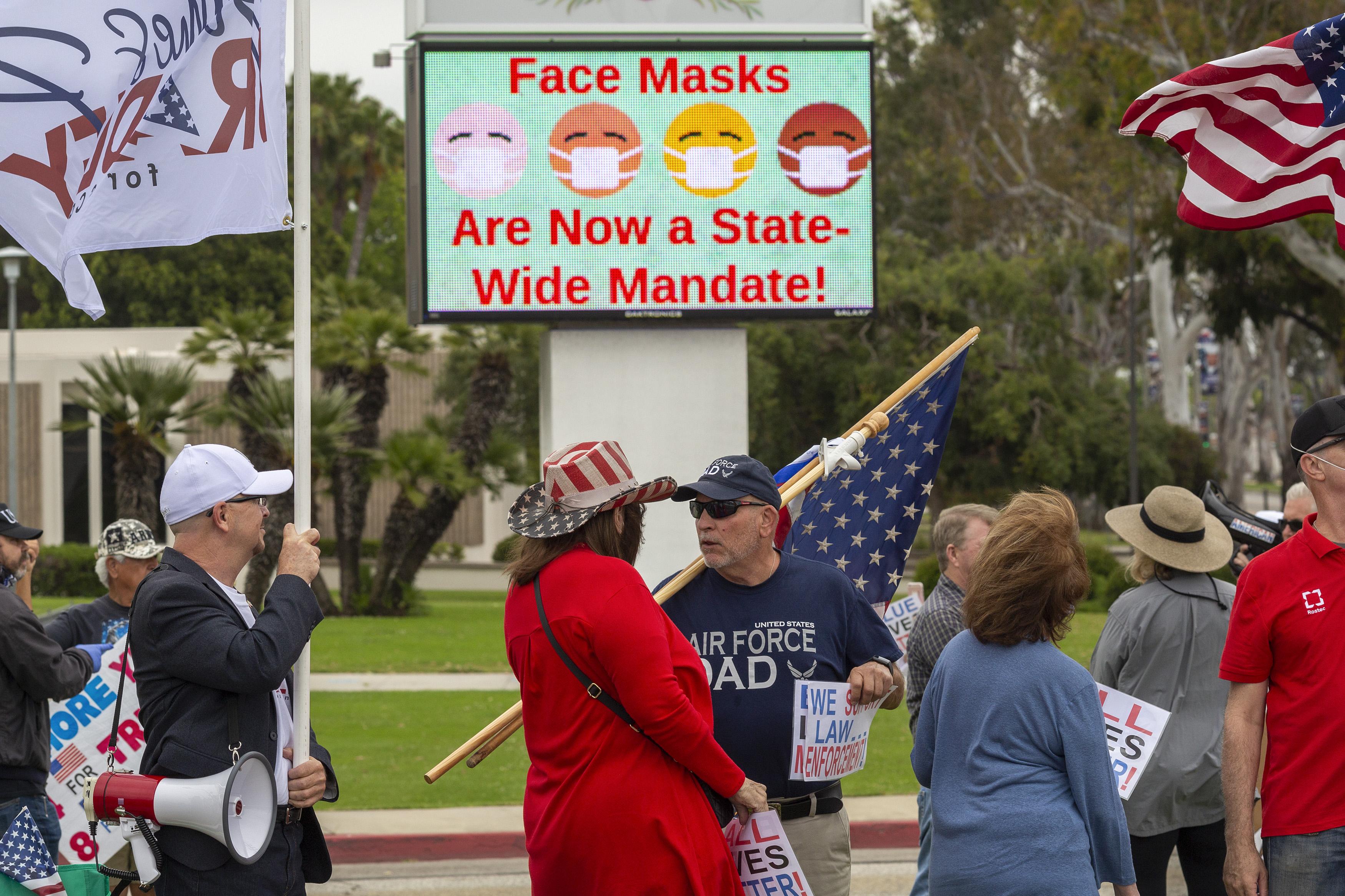 california mask order coronavirus