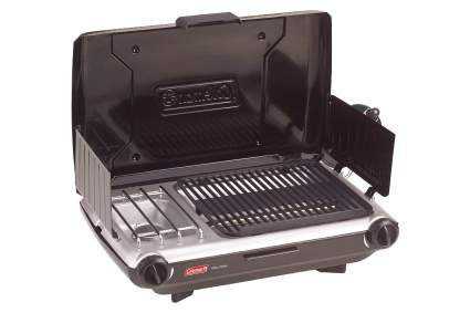 Coleman 2-Burner Gas Grill Stove Combo