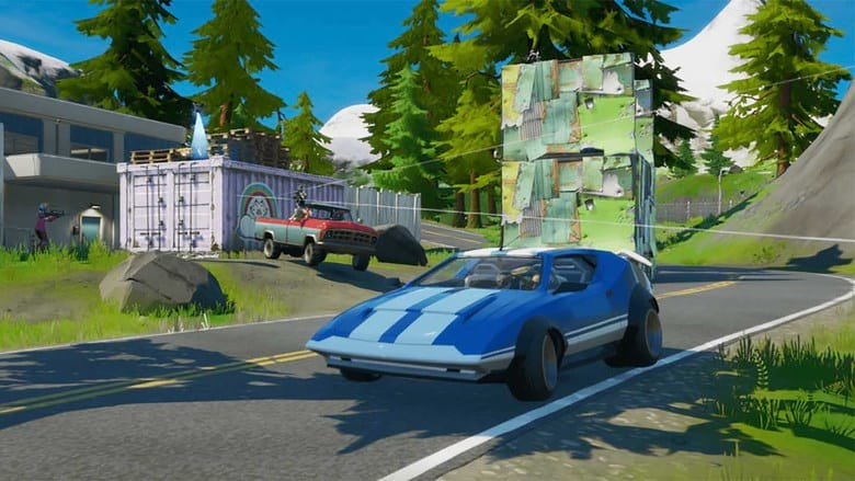 fortnite cars leak