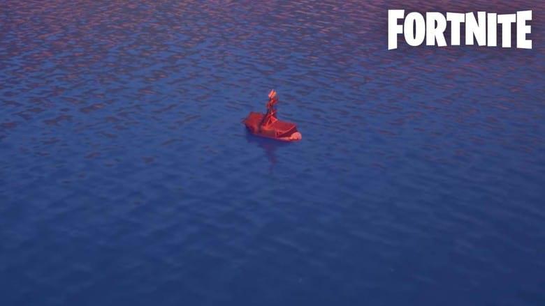 fortnite hidden loot boat