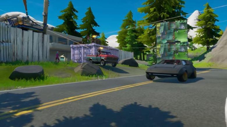 fortnite season 3 cars