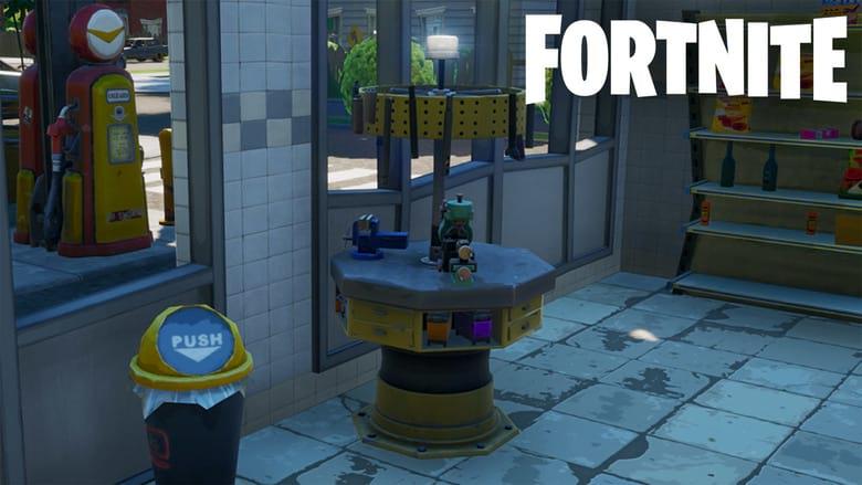 fortnite upgrade station
