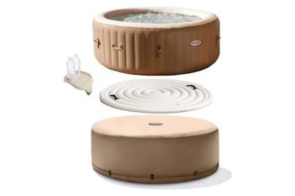 Bain de massage à bulles chaudes Intex PureSpa