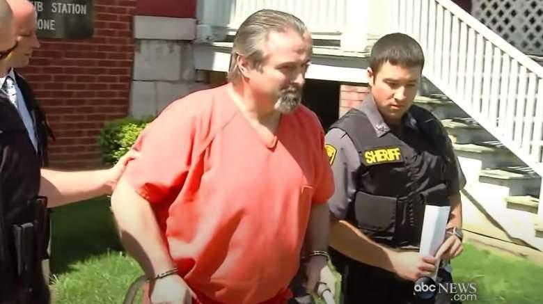 Karl Karlsen after his arrest