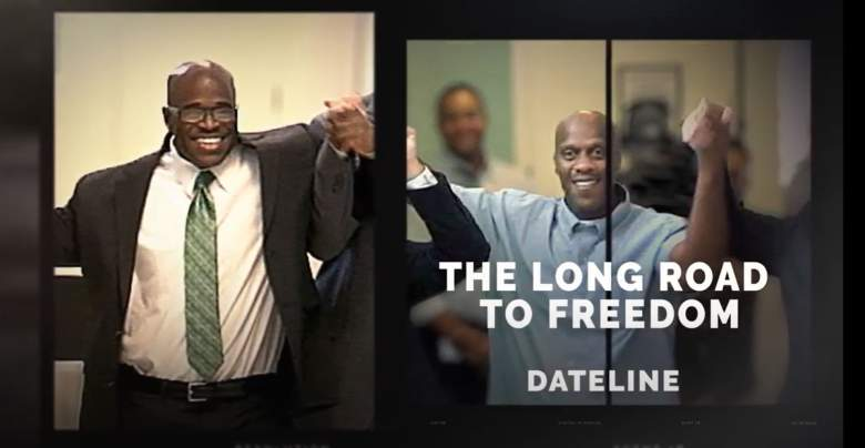 Malcolm Scott and Corey Atchison have been freed from prison after being wrongfully convicted of separate murders.