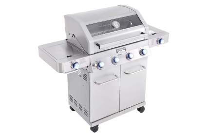 Monument Grills Stainless Steel 4-Burner Gas Grill