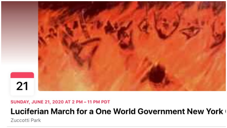 Luciferian March for a One World Government New York