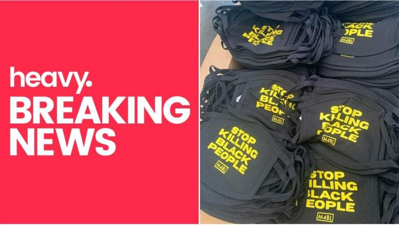 Movement-Ink 'Stop Killing Black People' Face Masks