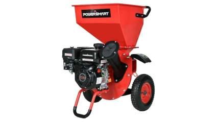 PowerSmart 212cc Gas-Powered Chipper/Shredder