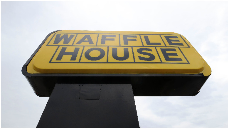 protesters spare waffle house