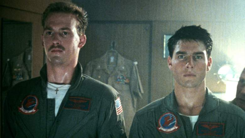 Anthony Edwards and Tom Cruise in Top Gun
