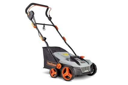 VonHaus 15-Inch Electric Lawn Dethatcher and Aerator