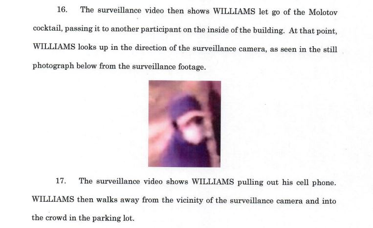 williams complaint