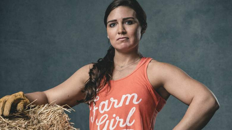 Melissa Burns is a third-generation farmer competing on new CBS reality show Tough As Nails