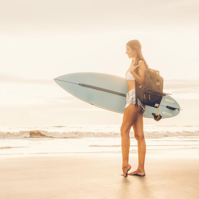 Adjustable Safety Shoulder Strap Travel Surf Board Bag Surfboard Cover Surf Bag