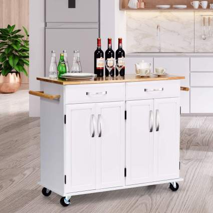 Giantex Kitchen Trolley Cart