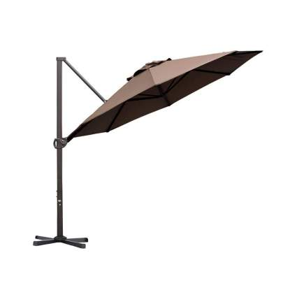 Abba Patio 11 Foot Offset Hanging Patio Umbrella
