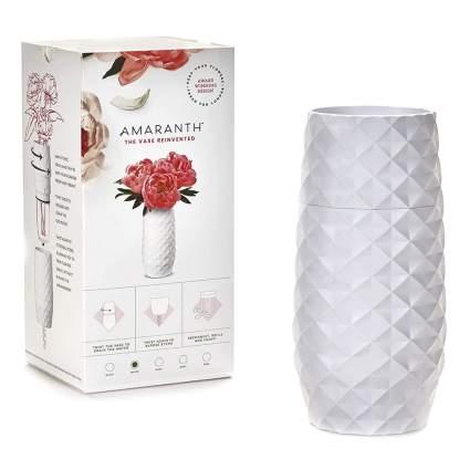white smart vase