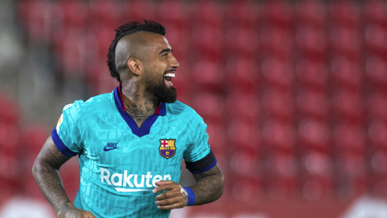 rturo Vidal's future at Barcelona has prompted much speculation this season with the 33-year-old heading towards the final year of his current contr