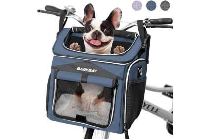 barkbay dog bike basket