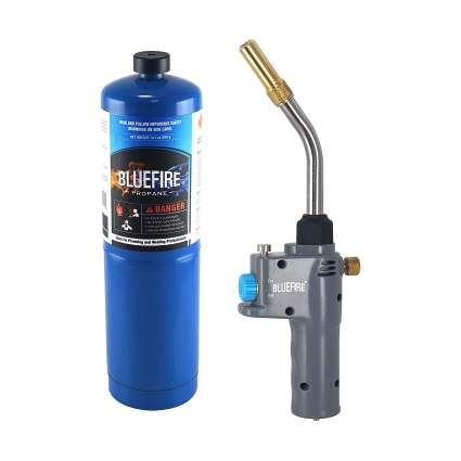 BLUEFIRE BTS-8088 Trigger Start Heavy Duty Gas Welding Torch Head With Propane