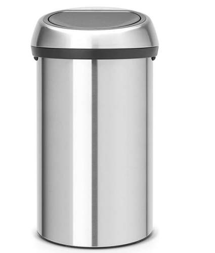 Brabantia Touch Stainless Steel Trashcan