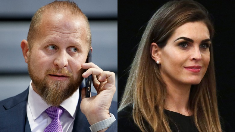 Brad Parscale and Hope Hicks comet pizza