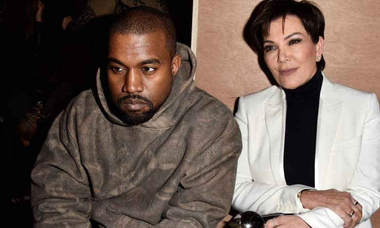 Kanye West Kris Jenner