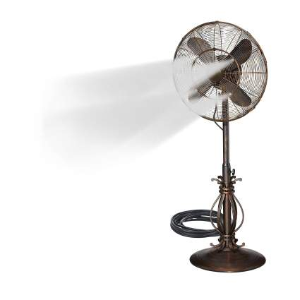 Dynamic Collections Oscillating Fan with Misting Kit