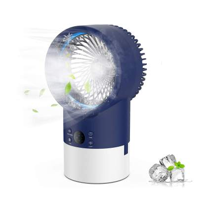EEIEER Portable Air Conditioner Cool Mist Humidifier Fan