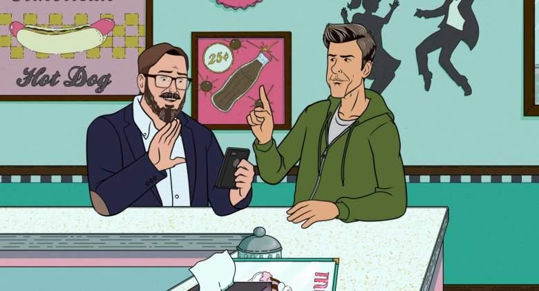 "CAKE -- Episode 2 (Airs Thursday, July 9, 10:00 PM ET/PT on FXX) -- ""Dicktown"" -- John Hodgeman & David Rees."