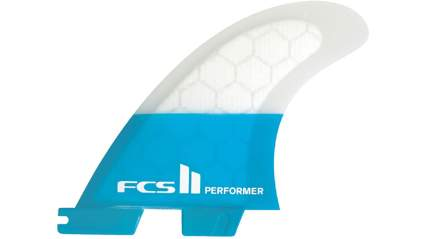FCS II Performer Performance Core Tri Fin Set - Teal
