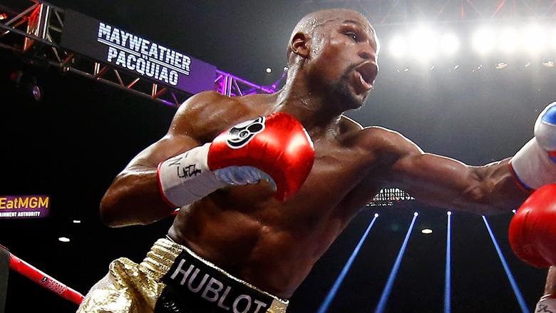 Boxing Star Floyd Mayweather