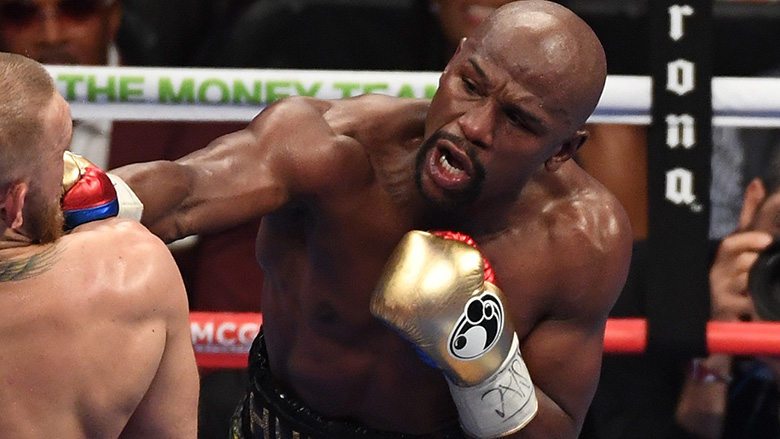 Boxing Star Floyd Mayweather, Jr.