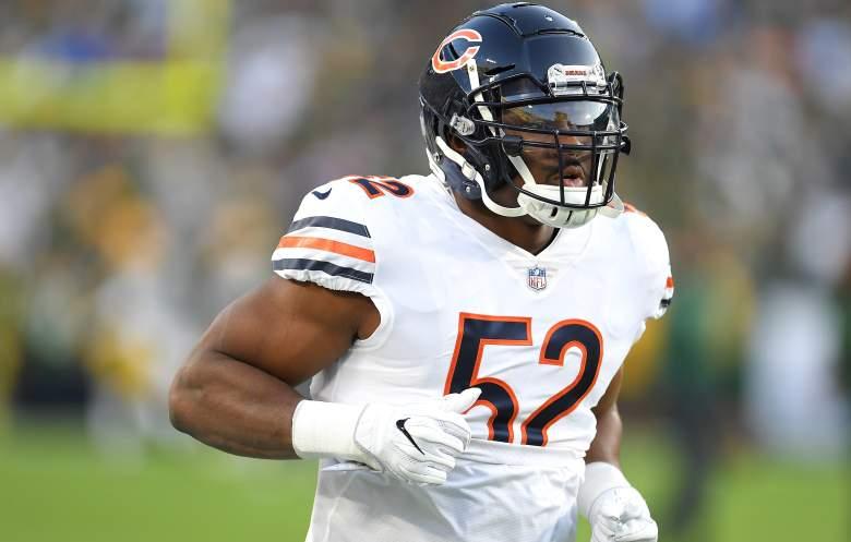 Khalil Mack of the Chicago Bears