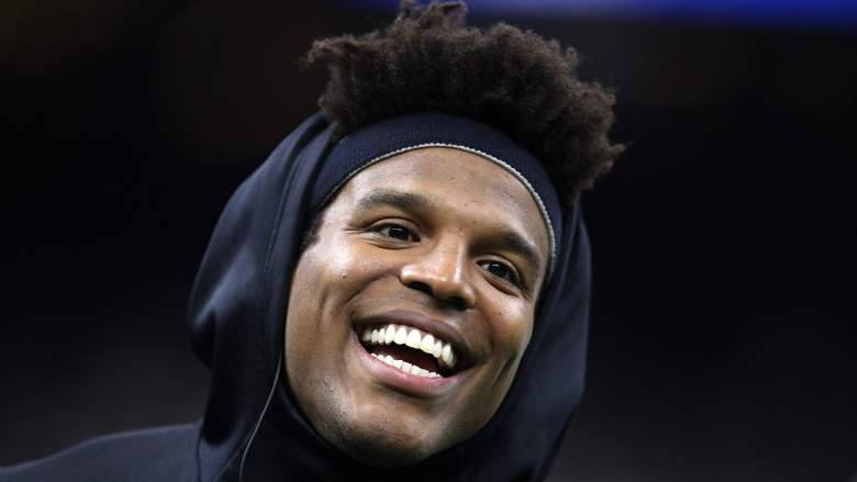 Cam Newton Works Out With Popular and Surprisingly Athletic Rapper
