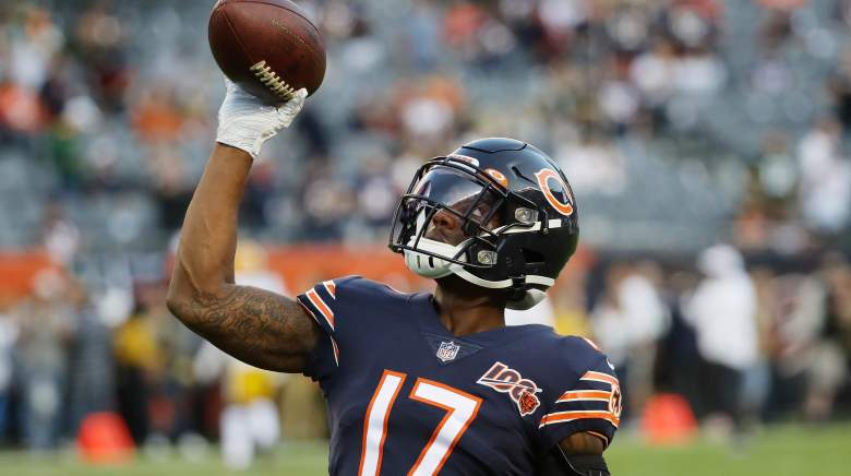 Chicago Bears WR Anthony Miller