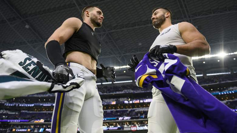 Harrison Smith and Andrew Sendejo