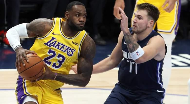 Lakers vs Mavs Scrimmage Live Stream