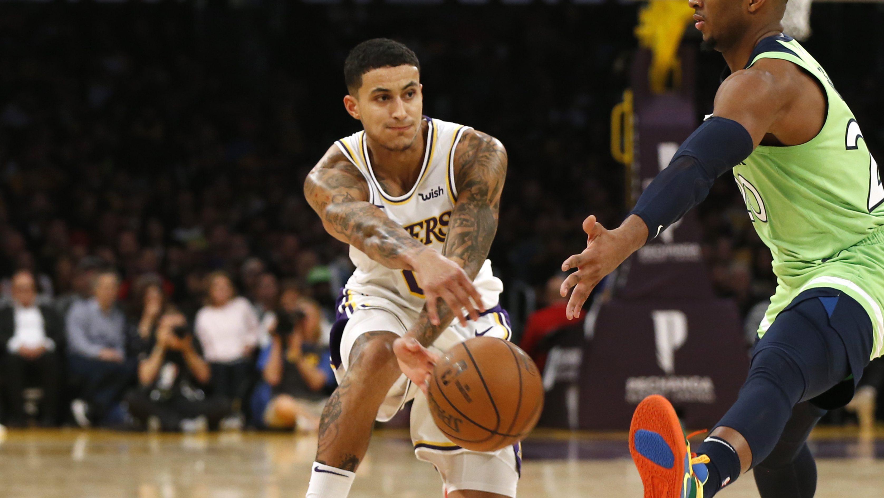 Kyle Kuzma Expects Lakers Nba Surprises During National Anthem Heavy Com