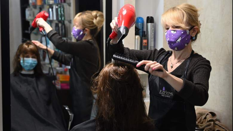 Hairstylists masks