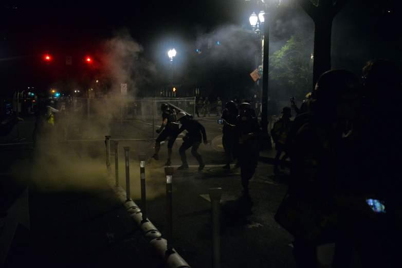 Portland protest