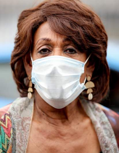 Maxine Waters mask