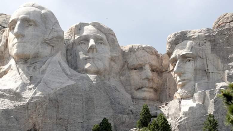 Trump Mount Rushmore Event