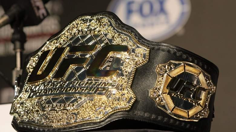 UFC Championship Belt